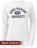 James Madison University Women's Long Sleeve Waffle T-Shirt