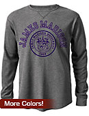 James Madison University Watch Hill Waffle Long Sleeve T-Shirt