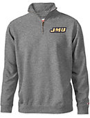 James Madison University Tri-Blend 1/4 Zip Fleece Pullover