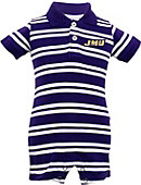 James Madison University Infant Boy's Polo Romper
