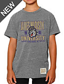 James Madison University Dukes Youth Tri-Blend T-Shirt