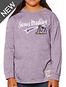 James Madison University Youth Girls' Long Sleeve T-Shirt