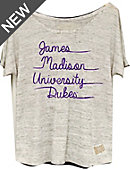 James Madison University Women's Pocket T-Shirt