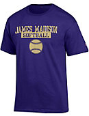 James Madison University 'Softball' T-Shirt