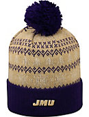 James Madison University Dukes Christmas Cuffed Pom Hat