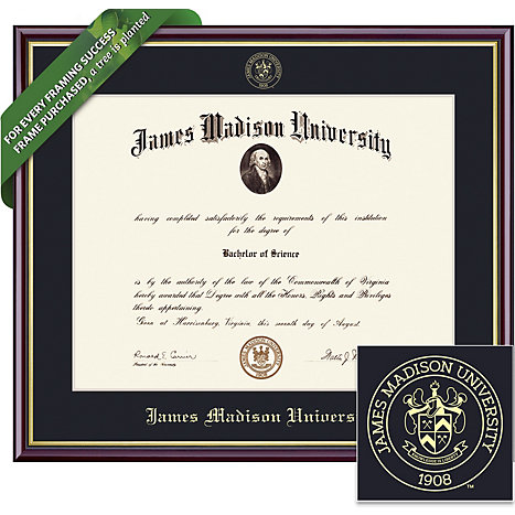 framing success james madison university 14 x 17 value price academic diploma frame