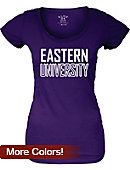 Eastern University Women's Scoopneck T-Shirt