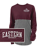 Eastern University Women's Long Sleeve Rah Rah T-Shirt