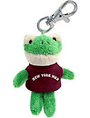 New York Medical College Plush Keychain