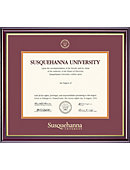 Susquehanna University 8.5'' x 11'' Windsor Diploma Frame