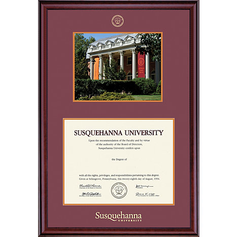 Product: Susquehanna University 8.5'' x 11'' Classic Diploma Frame