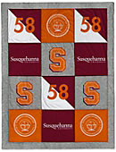 Susquehanna University 62'' x 80'' Spirit Blanket