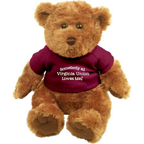Product: 'Somebody at Virginia Union Loves Me!' Plush Bear