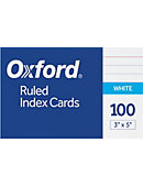 INDEXCARD 3x5 100CT RULED