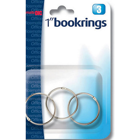 Product: Binder Ring 1'' 3PK
