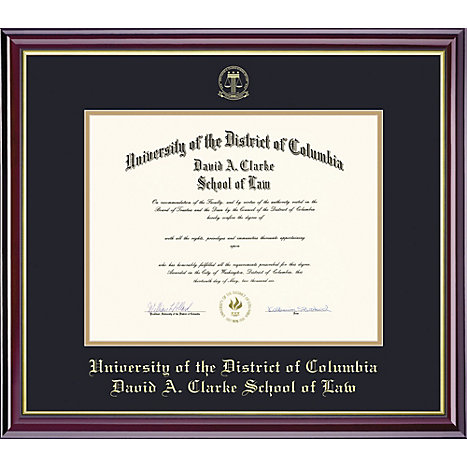Product: University of District of Columbia 11'' x 14'' Windsor Diploma Frame