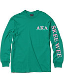 University of District of Columbia Alpha Kappa Alpha Long Sleeve T-Shirt