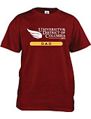 University of District of Columbia Firebirds Dad T-Shirt