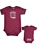 Guilford College 'I'm Behind The Quakers' Infant Bodysuit