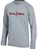 Guilford College Quakers Vapor Performance Long Sleeve T-Shirt