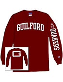 Guilford College Quakers Long Sleeve T-Shirt