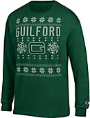 Guilford College Ugly Sweater Long Sleeve T-Shirt