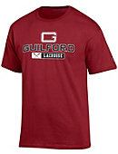 Guilford College Quakers Lacrosse T-Shirt