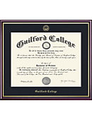 Guilford College 14'' x 17'' Value Price Academic Diploma Frame