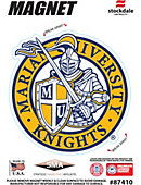 Marian University Knights 4' x 4' Magnet