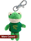 Marian University Plush Keychain