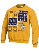 Marian University Ugly Sweater Crewneck Sweatshirt