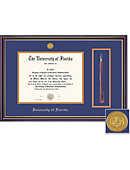 UF Windsor Diploma and Tassle Frame