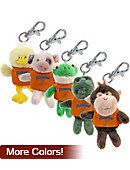 University of Florida Plush Keychain