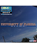 University of Florida Alumni Strip Decal
