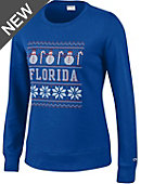 University of Florida Women's Crewneck Ugly Sweater Sweatshirt