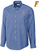 Cutter and Buck University of Florida Oxford Woven Shirt - ONLINE ONLY