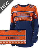 University of Florida Women's Long Sleeve Ugly Sweater Ra Ra Shirt