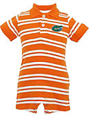 University of Florida Infant Boy's Polo Romper