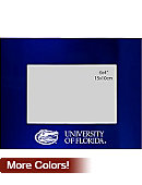 University of Florida Colored Brushed Metal Frame