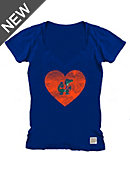 University of Florida Youth Girls' Gators V-Neck Short Sleeve T-Shirt