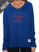 University of Florida Gators Women's Vintage Crewneck Top