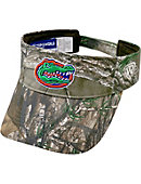 University of Florida Gators Realtree Camo Adjustable Visor