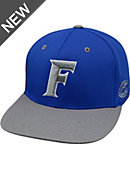 University of Florida Polyester Textured Flat Bill Cap