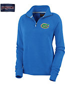 University of Florida Gators Women's 1/4 Zip Chelsea Fleece Pullover