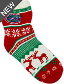 University of Florida Women's Ugly Sweater Christmas Socks