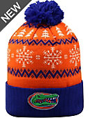 University of Florida Gators Christmas Cuffed Pom Hat