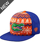 University of Florida Flatbill Christmas Snapback Cap