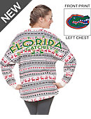 University of Florida Women's Xmas Ugly Long Sleeve T-Shirt