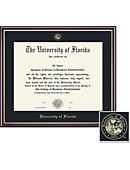 University of Florida Academic Diploma Frame