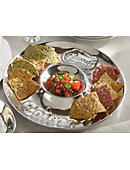 1313H Wilton Armetale Chip And Dip Set